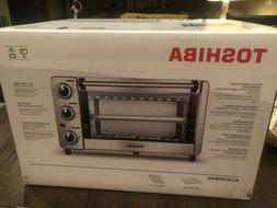 Toshiba MG12GQN-SS. 9 Inch Pizza , 4slice Toaster Oven. Stai