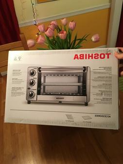 Toshiba MG12GQN-SS Toaster Oven Stainless Steel, Brand-new,