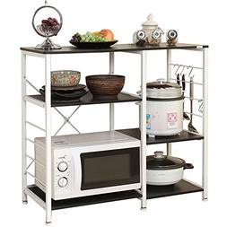 microwave cart stand kitchen utility