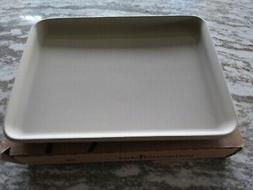 Pampered Chef Mint Condition Toaster Oven Pan Stone FREE SHI