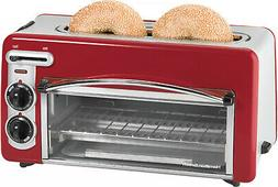 Hamilton Beach Toastation 2-in-1 2 Slice Toaster and Oven In