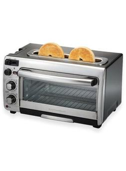 NEW Hamilton Beach 2-in-1 Countertop Oven and Toaster
