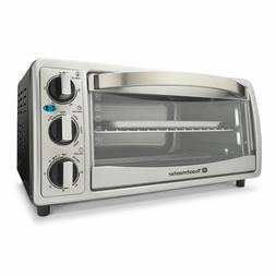 NEW TOASTMASTER 6-SLICE TOASTER OVEN BAKE BROIL TOAST KEEP W