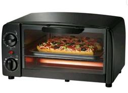 new black electric toaster oven broiler toast