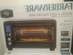 New Farberware Convection 6 Toaster Oven - Black Stainless S