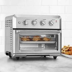 NEW CUISINART CTOA-120PC1 AIR FRYER TOASTER OVEN 7 FUNC 4LBS