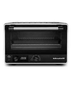 New KitchenAid KCO211BM Digital Countertop Toaster Oven, Bla