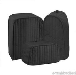 Ritz Quilted Solid Black Appliance Cover RITZ Polyester / Co