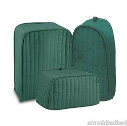 Ritz Quilted Solid Hunter Green Appliance Cover RITZ Polyest