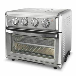New! Cuisinart TOA-60 1800W Stainless Steel Air Fryer Toaste