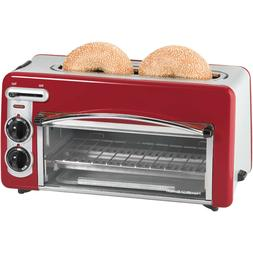 NEW Hamilton Beach Toastation 2-in-1 2 Slice Toaster Oven Mu