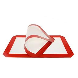 Aowecke Non-stick Silicone Baking Mat, Toaster Oven Liner, C