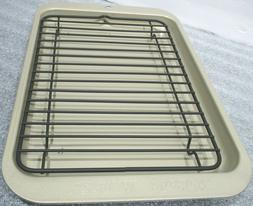 Nordic Ware Small Toaster Oven Broiler Rack & Tray 10 x 7 x