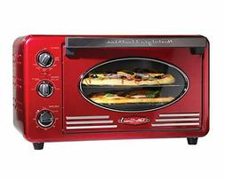 Nostalgia Retro Series Toaster Oven - Red New in Box item# R