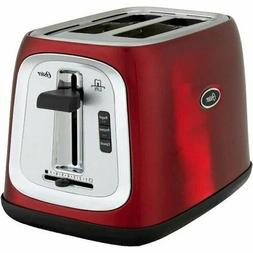 Oster 2-Slice Toaster Oven Metallic Red Color