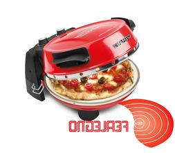 OVEN ELECTRIC WITH STONE REFRACTORY PIZZA PANINI BUNS G3 FER
