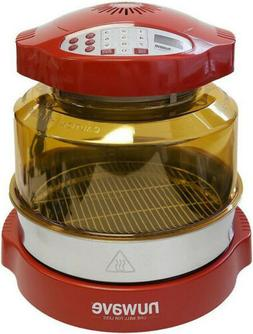 NuWave Oven Red Pro Plus with Stainless Steel Extender Ring