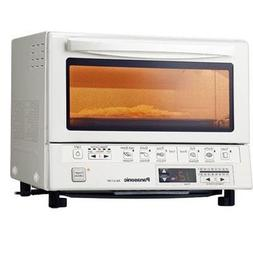 Nceonshop Panasonic NB-G110PW FlashXpress Toaster Oven, Whit