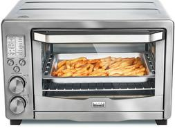 Bella - Pro Series 6-Slice Toaster Oven Air Fryer - Stainles