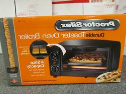 proctor silex durable toaster oven broiler 4