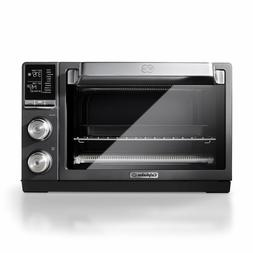 Calphalon Quartz Heat Countertop Oven, Dark Stainless Steel.