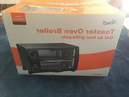 Rosewill RHTO-13001 1500 W 6 Slice Black Toaster Oven Broile
