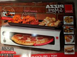 Ronco Pizza & More Rotating Pan Pizza Oven with Warming Tray