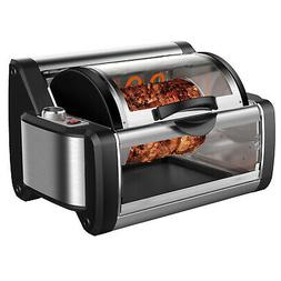Rotisserie Toaster Oven Grill - BBQ Kebab Electric Cooker Ro