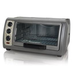 Hamilton Beach 31126 6-Slice Easy Reach Toaster Oven with Ti