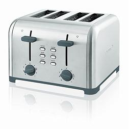 Kenmore 40605 4-Slice Toaster with Dual Controls in Stainles