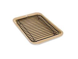 Small Toaster-Oven Baking Set Pan Bake Cake Broil Grill Broi