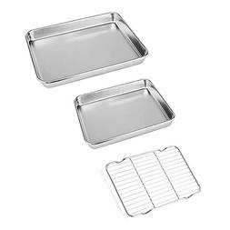 Neeshow Stainless Steel Toaster Oven Pan Tray Ovenware Profe