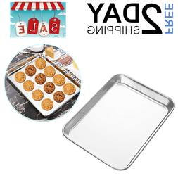 Stainless Steel Cookie Sheet For Toaster Oven Mini Baking Tr