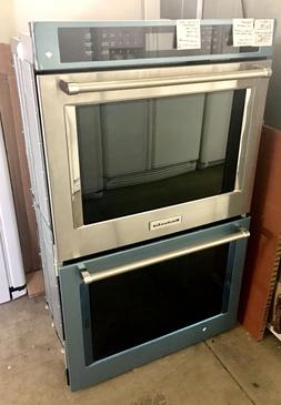 KitchenAid Stainless Steel Double Door Wall Convection Oven