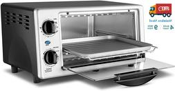 Stainless Steel Toaster Oven Baking Cooking Convection Count