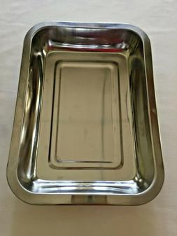 Stainless Steel Toaster Oven Pan Tray Baking Or Cooking Ware