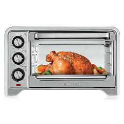 Chefman Stainless Steel Toaster Oven, Variable Temperature C