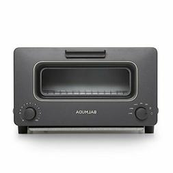 BALMUDA Steam Oven Toaster K01A-KG Black Japan New Free Ship