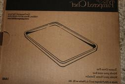Pampered Chef Stoneware Toaster Oven Pan Item #1448 Small ba