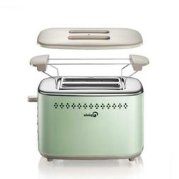 Toaster 2-Slice Stainless Steel Toasters with 2 Extra Wide S