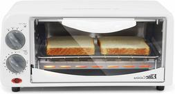 Gourmet Personal 2 Slice Countertop 15 Minute Timer Toaster