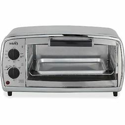 """Oster Toaster Oven 4-Slice 15-9/10""""Wx11-3/5""""Dx8-1/4""""H STST T"""