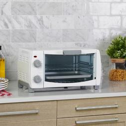Toaster Oven 4Slice with Pan and Baking Kitchen Countertop D