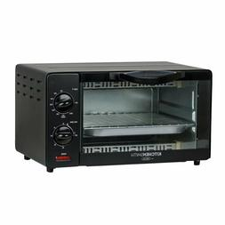 KitchenSmith by BELLA Toaster Oven - Black