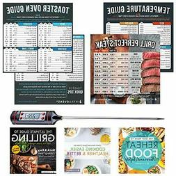 Toaster Oven Accessories | Cook Times Cheat Sheet Magnets,