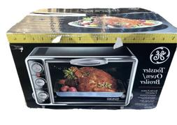GE Toaster Oven Broiler 106686r - Extra Large Capacity - Bla