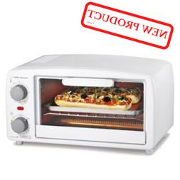 Toaster Oven Broiler Drop Down Crumb Tray Automatic Shut Off