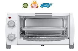 Toaster Oven Countertop, 4-Slice, Compact Size, Easy to Cont