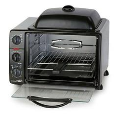 Toaster Oven Elite Cuisine 6-Slice with Rotisserie and Grill