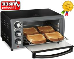 Hamilton Beach Toaster Oven In Charcoal   Model# 31148 - Fre